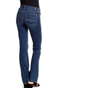 7 For All Mankind Short Inseam Bootcut Jeans 26